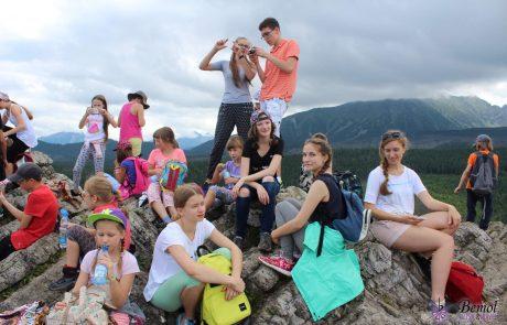 Obóz rekreacyjny w górach BEMOL